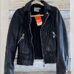 NWT Doma super soft leather jacket